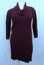 D10 Fashion Bug Sexy Above Knee Knit Sweater Dress Woman xl X Large Cowl Neck