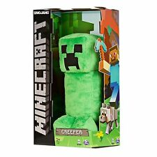 """NIB Minecraft Creeper Green Plush JINX Exclusive 12"""" Plush Toy for Ages 3+ *NEW*"""