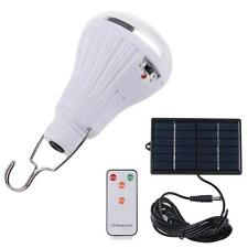 20 LED Solar Power Yard Outdoor Hiking Tent Light Remote Control Camping Lamp