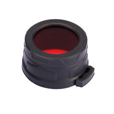 NiteCore NFR40 40mm Red Lens Cap Filter Diffuser for SRT7 MH25 MH27