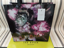 TED BAKER Genuine CRESCON Ethereal Posie Print Large shoppers Tote Bag BNWT