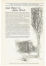 Vintage, Original, 1915 - Battle Creek Sanitarium Ad - Health Resort, Spa