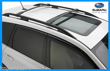 2014 - 2017 Subaru Forester Genuine OEM Areo Cross Bars Roof Rack E361SSG000