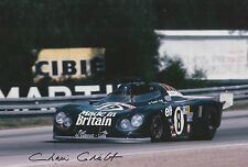 Chris Craft Hand Signed 12x8 Photo Le Mans 3.