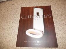 2003.Arts décoratifs XXe.Catalogue vente christie's.Gray Chareau..