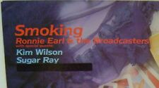 """Ronnie Earl & The Broadcasters Smoking Rare LP 12"""" Vinyl Black Top Records 1023"""