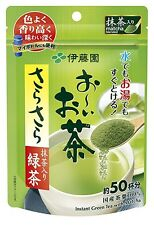 Itoen OOI OCHA. Green tea powder with Macha 40 g for 50 cups of green tea