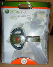 New Microsoft Xbox 360 Halo 3 Edition HALO3 WIRELESS HEADSET Green video game