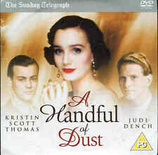 A HANDFUL OF DUST - Rupert Graves, Kristin Scott Thomas, Alec Guinness - DVD