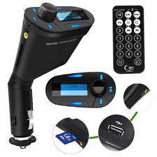 Transmisor FM REPRODUCTOR MP3 para Cargador de Coche Negro a1698