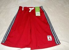NEW CARTER'S ATHLETIC STYLE SHORTS TODDLER BOYS 2T...RED