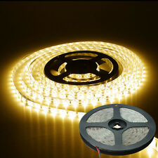 5 M STRISCIA STRIP 300 LED SMD 5730 BIANCO CALDO 5 MT ALTA LUMINOSITA' IMPERMEAB