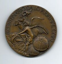 Woman / Centenary National Lottery / Bronze Medal by J.Santana. M18a