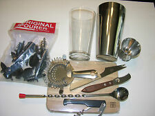 21  PIECE BARTENDER'S BAR SET  FREE SHIPPING US ONLY