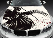 Manga Full Color Graphics Adhesive Vinyl Sticker Fit any Car Hood #063
