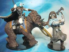 Dungeons & Dragons Miniatures  Frost Giant & Tundra Scout !!  s100
