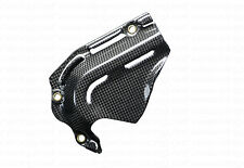 Ducati Hypermotard 821 Hyperstrada Carbon Fiber Front Chain Sprocket Cover Guard