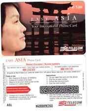 SCHEDA NUOVA INTERNAZIONALE TELECOM  EASY ASIA  DA 5€  ASL