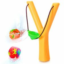 Soak 'n' Sling Catapult Toy - Soak with Water Then Launch! Fun Water Fight Game