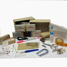 Hand or Machine Sewing Kit - 16 Essential Dressmaking Tailors Sewing Items