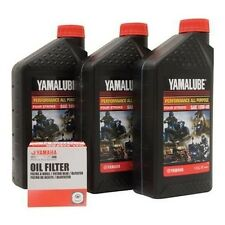 YAMAHA RHINO WOLVERINE KODIAK GRIZZLY BRUIN OIL CHANGE KIT OIL & FILTER