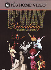 Broadway The American Musical DVD 3 Disc Set 2004 B Way PBS Theater New York