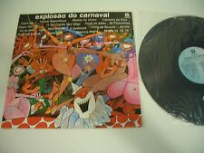 EXPLOSAO DO CARNAVAL LP CID BRAZIL 4054.  SEXY NUDE COVER PAINTING CHEESECAKE.