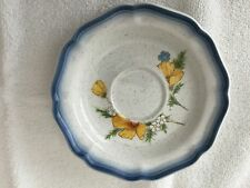 """MIKASA CONTRY CLUB  """"AMY""""  #CA503  SAUCER FOR COFFEE CUP - USED"""