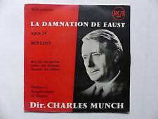 BERLIOZ Damnation de Faust Opus 24 Dir CHARLES MUNCH 95238