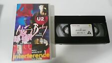 U2 ACHTUNG BABY VHS COLECCIONISTA EDICION ESPAÑOLA