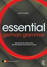 Essential Language Grammars Ser.: Essential German Grammar by Gudrun Loftus,...