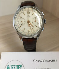 Vintage K2 Chronograph Men's Watch BIG 37 mm Landeron 248