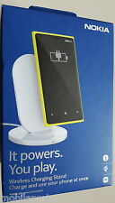 Genuine Nokia DT-901 Wireless QI Charging Plate + AU/NZ Mains Charger for Lumia