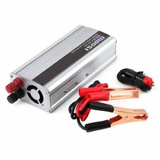 NEW Car DC 12V to AC 220V Power Inverter Charger Converter for Electronic 1500W!
