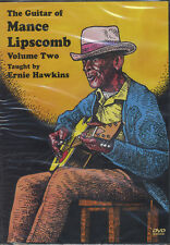 The Guitar of Mance Lipscomb 2 Learn How to Play Tuition DVD