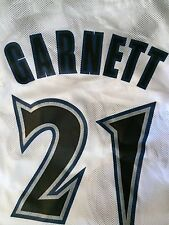 NEW Kevin Garnett Reebok 3XL XXXL Minnesota Timberwolves Authentic Jersey 21 NBA