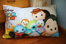 Disney TSUM TSUM Brown hat fuzzy single pillowcase pillow case U76 cushion cover