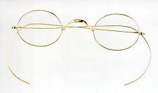 Vtg. 14K solid gold antique eyeglasses