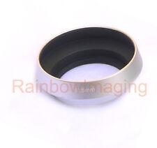 Silver Metal Screw-in lens hood for Nikon 1 NIKKOR 11-27.5mm f/3.5-5.6
