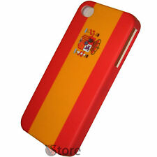 Cover Custodia Per iPhone 4/4S Bandiera Spagna Spain  España + Pellicola Display