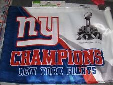 NFL New York Giants Football Car Flag 2012 Super Bowl XLVI Champions