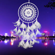 Dream Catcher Net With Feathers Hanging Handmade Craft Ornament Car Home Decor