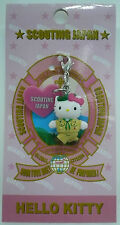 SCOUTS OF JAPAN NIPPON - HELLO KITTY GOOD TURN DAILY BP SCOUT Mobile Phone Strap