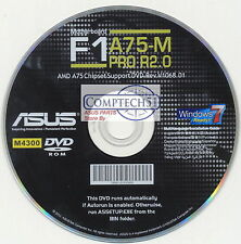 ASUS GENUINE MOTHERBOARD SUPPORT DISK F1A75-M PRO R2.0 M4300
