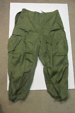 US KOREAN WAR ERA M1951 ARTIC TROUSER SHELL MED REGULAR 1952