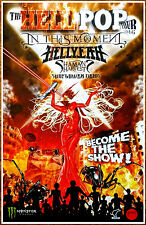 IN THIS MOMENT | HELLYEAH 2016 Hellpop Tour Ltd Ed RARE Poster +FREE Rock Poster