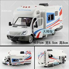 "1:36 8"" TRANSIT STYLE MOTORHOME CAMPER VAN Die Cast model With Sound & Light"