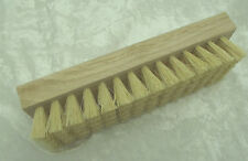 LARGE CEMENT BRUSH Lead Came Stained Glass Construction Cleaning 8 x 2.5 x 2 in