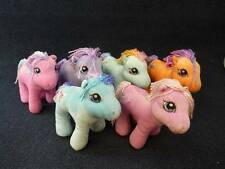 "My Little Pony Lot Of 6 Plush 9""  (h2733)"