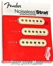 Fender Hot Noiseless Stratocaster Pickup Set Bridge Middle Neck Strat Pickup NEW